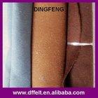 100%polyester Fabric colour wool felt