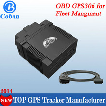 USA hot selling car GPS tracker OBD gps306 for car diagnostic tracking, TCP/UDP dual GPRS communication