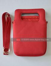 Fashion custom neoprene laptop sleeves with handle, waterproof bag