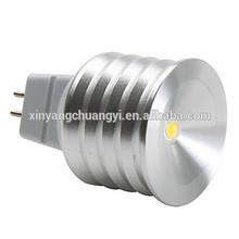 1W high-quality MR16 E27 GU10 GU5.3 Epistar led light mini spot
