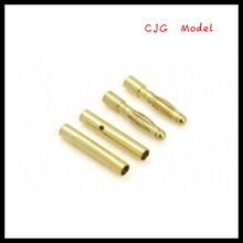 2.0mm Gold Plated Banana Plug or connector Male And Female