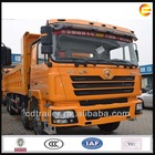 2014 new Shacman tippers dump truck size and powerful engine