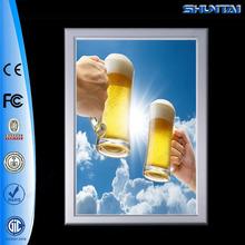 Wholesale slim led aluminum lighted picture frames