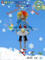 ave animal de vestuário para crianças