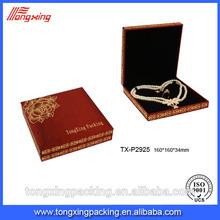 Eye catching wholesale custom logo printed jewelry set box