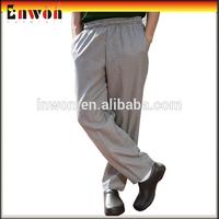 Professional restaurant cook pants workwear print chef pants