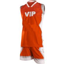 Orange basketball uniforms basketball jersey costume