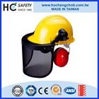 white led safety welding helmets ear muffs