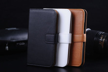 100% Genuine Leather Wallet Case for S5, for Samsung Galaxy S5 universal flip case