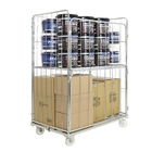 Foldable Metal Wire Mesh Storage roll Cage
