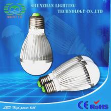 Gu10 B22 9W Cul Ul Cul U Shaped 1w led plastic housing bulb light