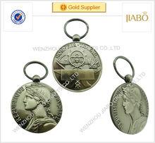 2014 anos alta vendas hot qualidade promoção medalha para venda frança promoção medalha para quente efeito 3d medalhas em relevo