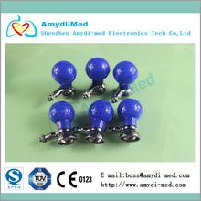 Adult muti-purpose ECG suction rubber electrode