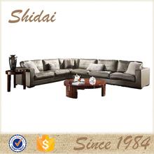 silver sofa set, silver leather sofa, burma teak wood sofa sets 985