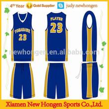 team sublimated custom basketball uniform design