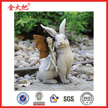 Fairy and Rabbit Statue & China wholesale home decor Christmas decoration