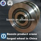 60# steel forged bogie wheel