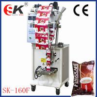 Mini size and economic coffee powder filling machine