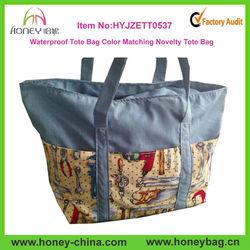 High quality waterproof tote bag Handbags bags china wholesale novelty tote bag