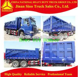 China 10-wheel Howo tipper truck dump truck for sale