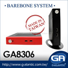GA8306 embedded mini pc barebone
