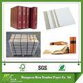 venta al por mayor a dos caras de papel hojas de cartón gris para la encuadernación de libros junta