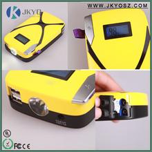 2015 New Product 8000mAh 12v/24v Emergency Power Bank Car Jump Starter