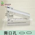 máquina neumática Perforadora de lágrimas de bolsa Sellada vuelta