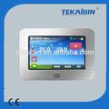 Tekaibin ht10.16 sıcak satış dijital renkli dokunmatik ekran programlanabilir termostat otomasyon termostat dijital