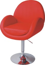 hot sale cute attractive modern fashion popular PU swivel leisure chairs