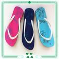 coloridos de borracha pvc chinelos eva flip flops