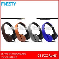 2015 New Arrival High Quality Custom Fashion Stereo Headphone