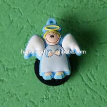 lovely angel custom 3d fridge magnet for tourist