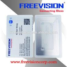 4046 bytes NFC business card