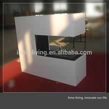 MDF/Steel ethanol fireplace outdoor