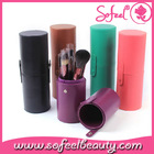 Sofeel Hot Selling Beauty Cylinder Makeup Brush Case