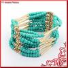 Beach Style Bohemia Small Beads Bracelet with Elastic