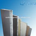 aluminium wabenbauplatte