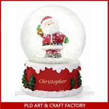 2014 Christmas Santa Claus Snow Globe Factory