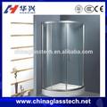 ce cuarto de baño de resistencia al agua de vidrio sin marco puerta corredera