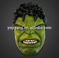 halloween plástico pvc hulk máscara de brinquedos