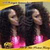100% virgin human hair Kinky curly full lace Afro American wigs