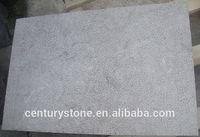 bush hammered blue limestone outdoor floor tile