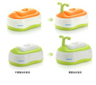 high quality plastic musical baby potty waterproof potty training pants