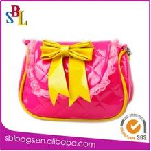 Lovely kids mini handbag, kids designer handbags, shinning kids gift bags China wholesale