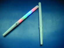 Children's Day Led Light up Cotton Candy stick Flashing Candy Glossy Stick for Party