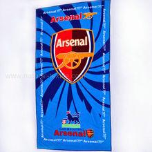 Arsenal design beach towel, world cup beach towel wholesale