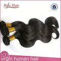 dibujado doble grado superior cabello remy onda del cuerpo brasileño extensión del pelo humano