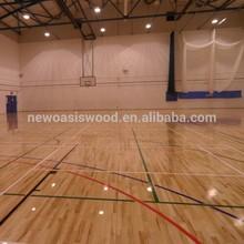 Oak Wooden Indoor Sports Flooring Manufacturer