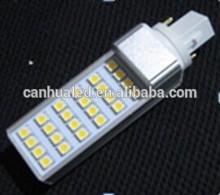 2014 China manufacture hot sale 180degree G24,E27 led corn bulb 5W smd high bright 220V 24leds rohs led corn light bulb smd5050